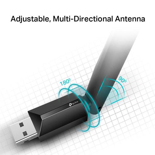 【限時至0831】 TP-LINK ARCHER T2U PLUS AC600 Wifi 高增益 USB 無線雙頻網路卡 Wifi 網卡
