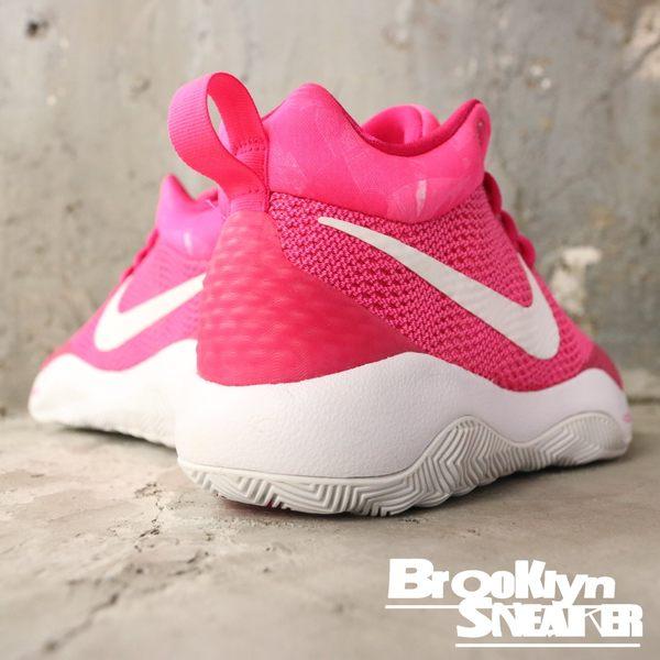 NIKE WMNS NIKE ZOOM REV EP 粉紅白 籃球鞋 女 (布魯克林) 903562-616