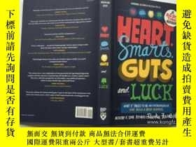 二手書博民逛書店Heart,罕見Smarts, Guts, and Luck: