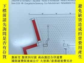 二手書博民逛書店德語原版Detail建築細部雜誌,2006年11月,主題:罕見能