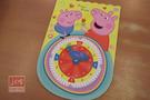 Peppa Pig 粉紅豬小妹 佩佩豬 造型認知時鐘 PG011D