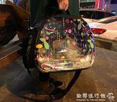 寵物背包  貓咪外出包寵物便攜包貓包透明貓背包裝狗狗包包太空包背帶包貓袋igo  歐韓流行館