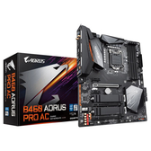 GIGABYTE 技嘉B460 AORUS PRO AC(rev. 1.0) Intel 第10代 LGA 1200 腳位 ATX 主機板