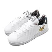 adidas 休閒鞋 Advantage J 白 寶可夢 皮卡丘 小白鞋 女鞋 童鞋 神奇寶貝 【PUMP306】 EG1999