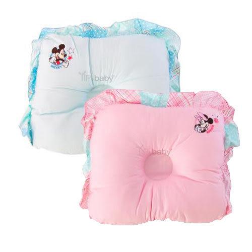 【奇買親子購物網】迪士尼Mickey米奇護頭凹枕(藍色/粉色)