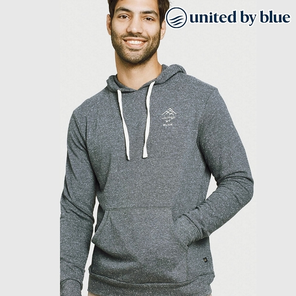 United by Blue 男起球長袖連帽上衣 101-096 Mountains Are Calling Hoodie / 城市綠洲 (有機棉、環保、帽T)