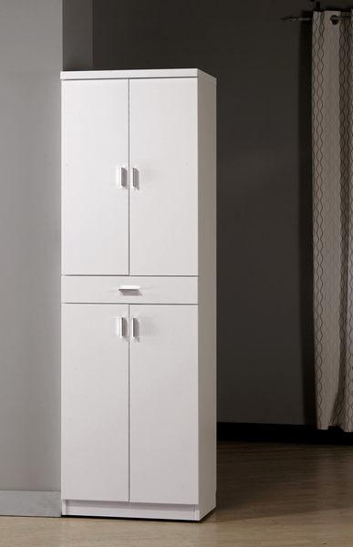 【森可家居】米洛斯6.5尺高雙面鞋櫃 8CM856-1 白色 北歐風