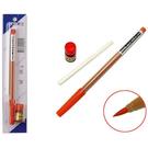 英士小楷卡式墨筆/自來水毛筆 紅