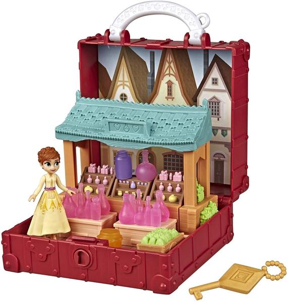 《 Disney 迪士尼 》冰雪奇緣2 基本場景遊戲組 - 安娜╭★ JOYBUS玩具百貨