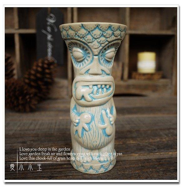 【帽子戲法】提基杯TiKi Mug 擺件陶瓷(一個價)(圖一)