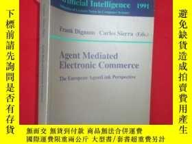 二手書博民逛書店Agent罕見Mediated Electronic Comme