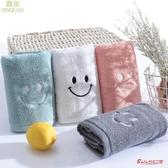 毛巾 4條裝毛巾棉洗臉家用洗臉巾潔面巾棉吸水手巾大毛巾女 多色 快速出貨