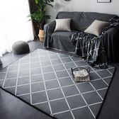 定制            ins潮牌北歐地毯臥室加厚可愛客廳地墊茶幾飄窗墊家用墊子可定制
