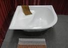 【麗室衛浴】BATHTUB WORLD 高級鑄鐵浴缸109*109CM  厚實亮面釉超耐用!!