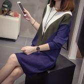 中大尺碼XL-4XL2019秋冬新款寬松中長款套頭毛衣女針織衫A683(R26.1號公館