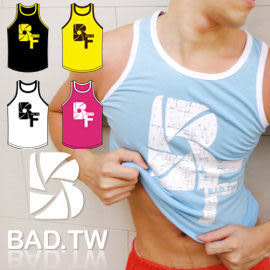 奢華壞男《 BF 限量款 - 超彈性合身背心 》5色 【S / M / L / XL / XXL】(潮T、上衣、服飾)