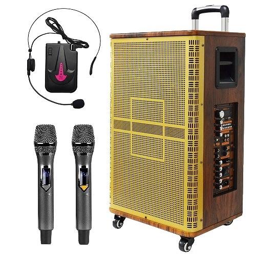 大聲公鼎典型12吋專業無線式多功能行動音箱/喇叭