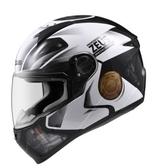 ZEUS瑞獅安全帽,ZS-811,AL39/黑白