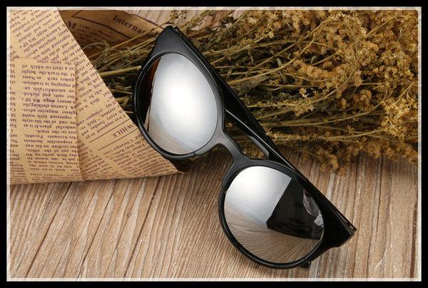 找到自己 MD 時尚 潮 男 圓框 黑色 太陽眼鏡 墨鏡 個性司機駕車眼鏡
