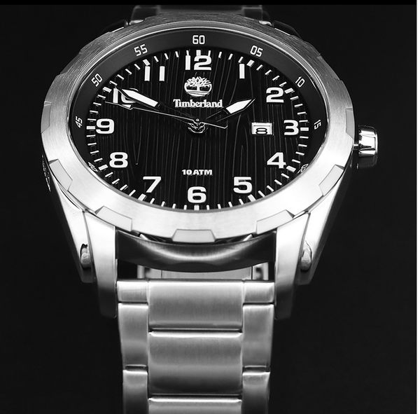 Timberland 世堅扶龍錶 踢不爛 手錶 (TBL.13330XS/02M) 黑/45mm