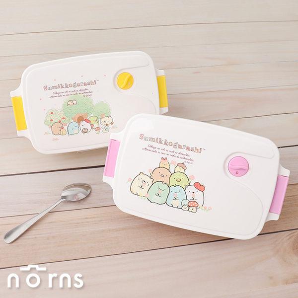 【角落生物可微波便當盒 P2】Norns 單層餐盒 環保餐具 角落小夥伴 恐龍貓咪白熊