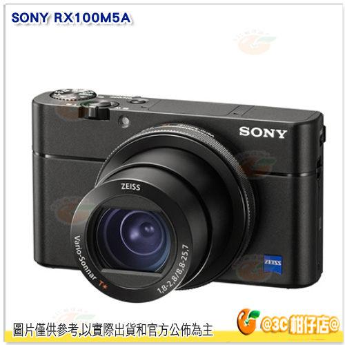 送64G+原電*2+原廠座充+相機包等10好禮 SONY DSC-RX100VA RX100M5A 台灣索尼公司貨