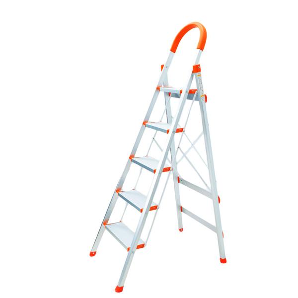 小幫手鋁合金五階梯【JL精品工坊】爬梯 鋁梯 樓梯 A字梯 馬椅梯 家用梯
