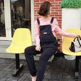 【新年鉅惠】孕婦背帶褲秋裝時尚款新款秋冬孕婦托腹褲長褲正韓孕婦針織褲