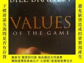 二手書博民逛書店比爾·布拉德利罕見Bill Bradley:Values of