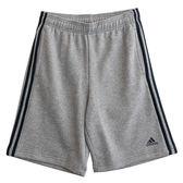 Adidas ESS 3S SHORT FT  運動短褲 BK7469 男 健身 透氣 運動 休閒 新款 流行