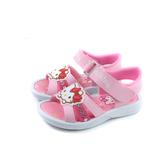 Hello Kitty 凱蒂貓 涼鞋 粉紅色 中童 童鞋 820346 no821 16~23cm