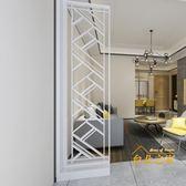 現代簡約家具時尚屏風隔斷客廳歐式鏤空可拼接座屏玄關屏風隔斷櫃xw