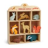 【美國Tender Leaf Toys】森林動物夥伴(家家酒-動物配件)