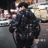 (百貨週年慶)男士外套春秋冬季正韓潮流修身迷彩休閒夾克裝薄款上衣服棒球