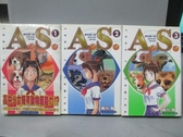 【書寶二手書T7/漫畫書_NCQ】A.S.野性第六感_1~3集合售_前川剛