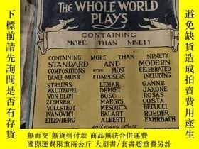 二手書博民逛書店DANCE罕見MUSIC THE WHOLE WORLD PLAYS:全世界奏響的舞曲Y200392