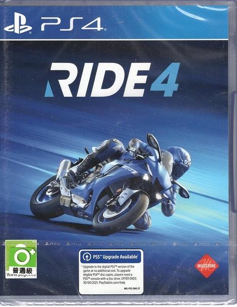 【玩樂小熊】PS4遊戲 極速騎行 4 Ride 4 中英文版 摩托車遊戲 賽車遊戲