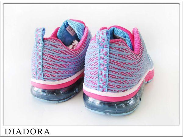 『雙惠鞋櫃』◆DIADORA迪亞多那 ◆ 女款 氣墊運動慢跑鞋 ◆ (DA2796) 藍桃
