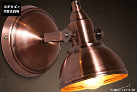 INPHIC- 可調節鐵藝工業風美式復古個性玄關樓梯牆壁燈創意陽臺壁燈-F款_S197C