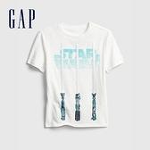 Gap男童 Gap x Star Wars星際大戰系列短袖T恤 682089-白色