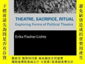 二手書博民逛書店Theatre,罕見Sacrifice, RitualY255562 Fischer-lichte, Erik