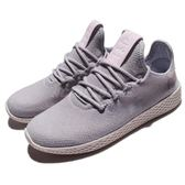 adidas 休閒鞋 PW Tennis HU W Pharrell Williams 灰 白 聯名款 運動鞋 女鞋【PUMP306】 DB2553