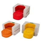 韓國ALZIPMAT 蔬菜水果小沙發|兒童沙發(3款可選)