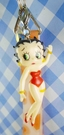 【震撼精品百貨】Betty Boop_貝蒂~手機提袋-3D橘愛心