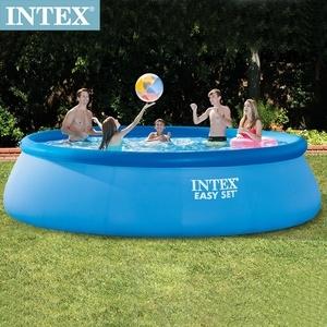 INTEX簡易裝EASY SET泳池-濾水泵(26165)+送幫浦(66639)