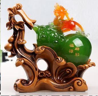 風水葫蘆貔貅擺件 辟邪招財工藝品家居裝飾品