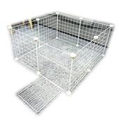寵物圍欄 DIY寵物圍欄小型犬室內柵欄隔離門貓籠別墅小寵兔子寵物籠jy【快速出貨八折搶購】