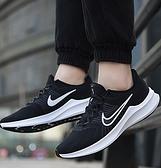 NIKE系列-DOWNSHIFTER 11 女款黑色運動慢跑鞋-NO.CW3413006