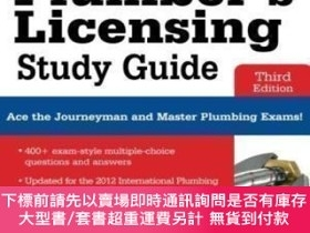 二手書博民逛書店Plumber s罕見Licensing Study Guide Third EditionY464532 M