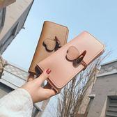 長夾皮夾少女心ins錢包女迷你可愛韓製女新款長款小清新女士錢夾包